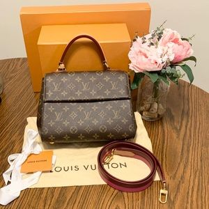 Louis Vuitton Monogram Pink Cluny BB
